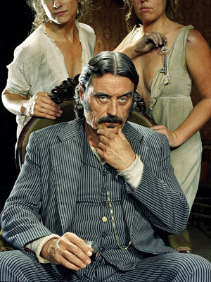 Al Swearengen: God rest the souls of that poor family… and pussy's half price for the next 15 minutes.