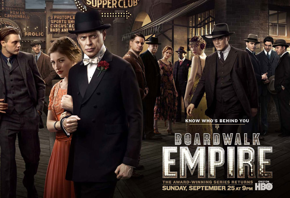 Boardwalk Empire season 2 poster Everyone looks so beautiful & untrustworthy!