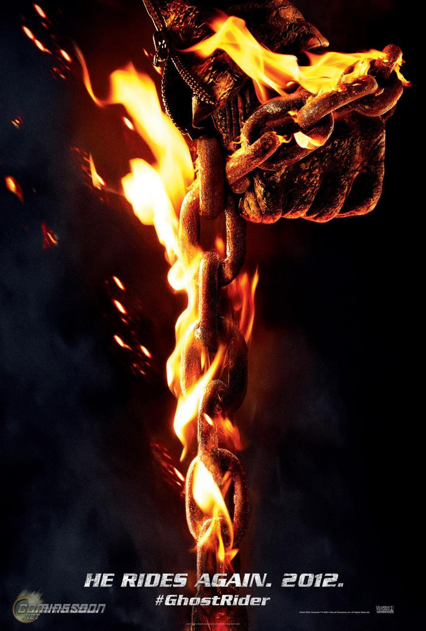 fumettimarvel:  animaexnihilo:  New poster for Ghost Rider: Spirit of Vengeance  -