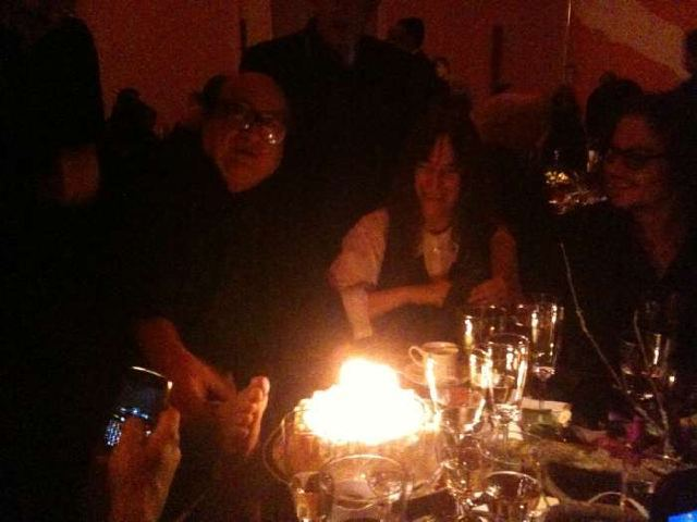 Danny DeVito, Patti Smith and  Johnny Depp