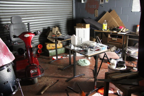 My old studio in East Brisbane.