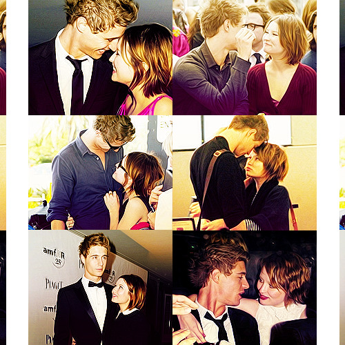 Emily Browning & Max Irons Too bad they're not together anymore, they were so cute.