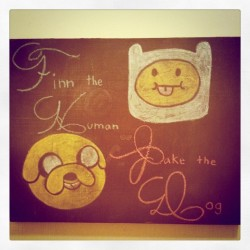 Jake the Dog & Finn the Human #adventuretime (Taken with instagram)