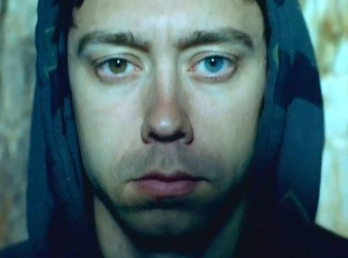 My god has one blue eye, the other brown, and sings; yours? Tim McIlrath