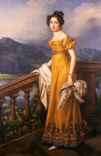 Amalie Auguste, Princess of Bavaria and Queen of Saxony by Joseph Karl Stieler, 1823
