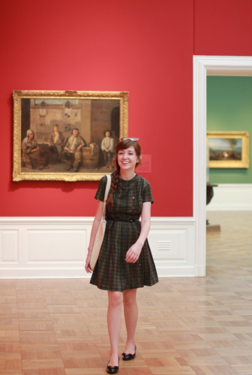 theclotheshorse:  ootd, laughing & getting lost in the portland art museum