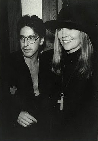 Al Pacino and Diane Keaton. (photographer unknown)