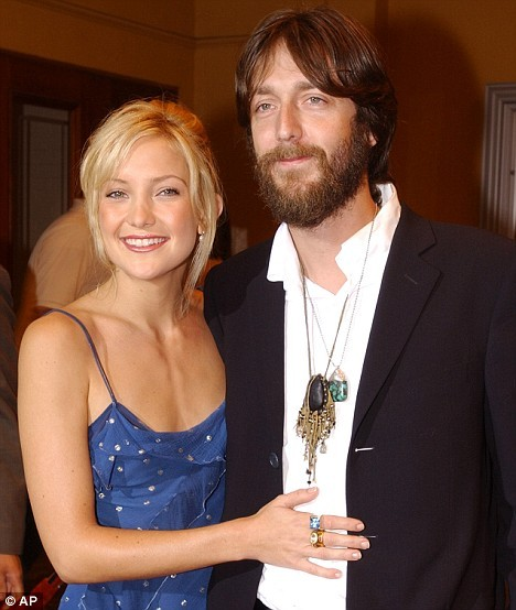 Kate Hudson and Chris Robinson. (photographer unknown)