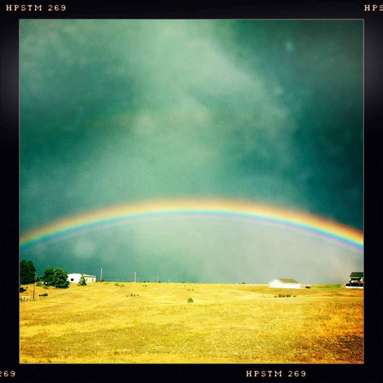 Rainbow II Taken with Hipstamatic, John S Lens, Pistil Film, No Flash.