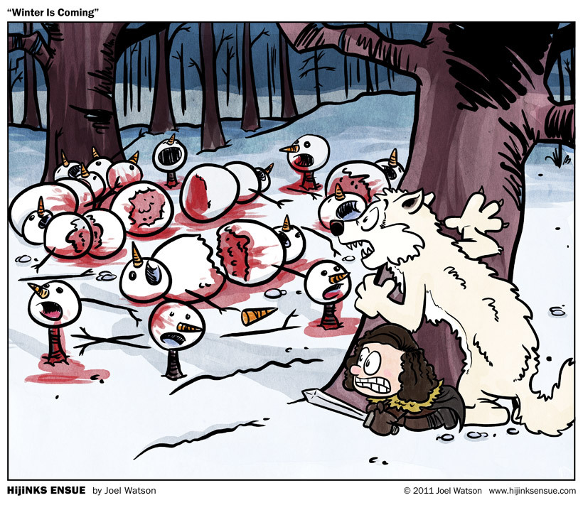 freakonomicon:  Winter Is Coming |  HijiNKS ENSUE