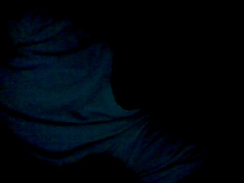 You can't see my face but, the boredom is killing me.