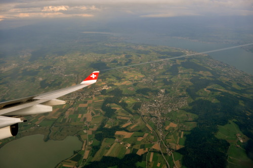 Layover in Zurich, on the way back to Belgium.