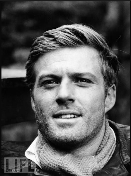 Robert Redford on the set of Situation Hopeless But Not Serious (1966).