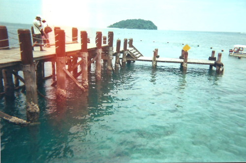 Summer, kind of wonderful Sapi Island, Kota Kinabalu