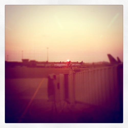 Oh good morning Boston! (Taken with Instagram at Boston Logan International Airport (BOS))