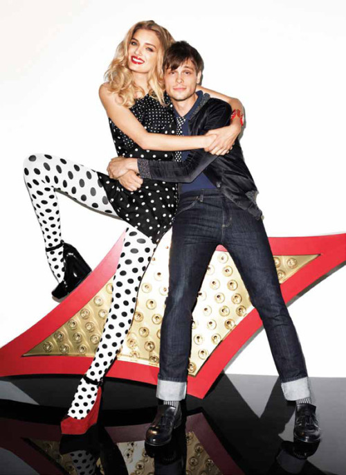 My boyfriend looks so cute in the new Aldo ads.