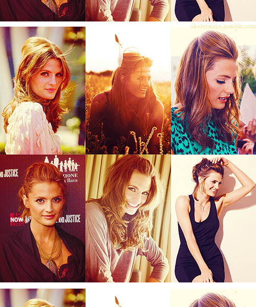 6 photos of Stana Katic  asked by: walabridget