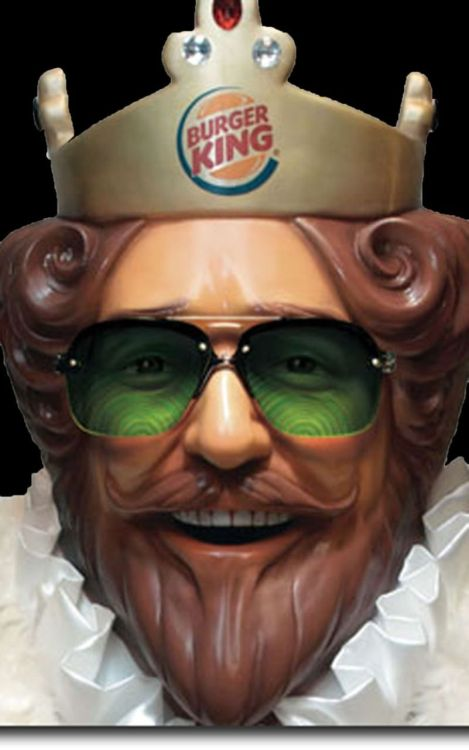 Burger King King was creepy. Good call getting rid of him. nbcnightlynews:  Burger King is firing the King.