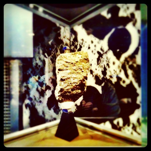 Big hunk of #MOON rock, about the size of a brick! #Smithsonian #space #dc #museum (Taken with instagram)