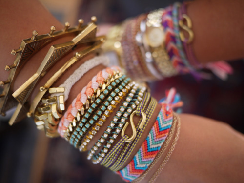 so much arm candy.