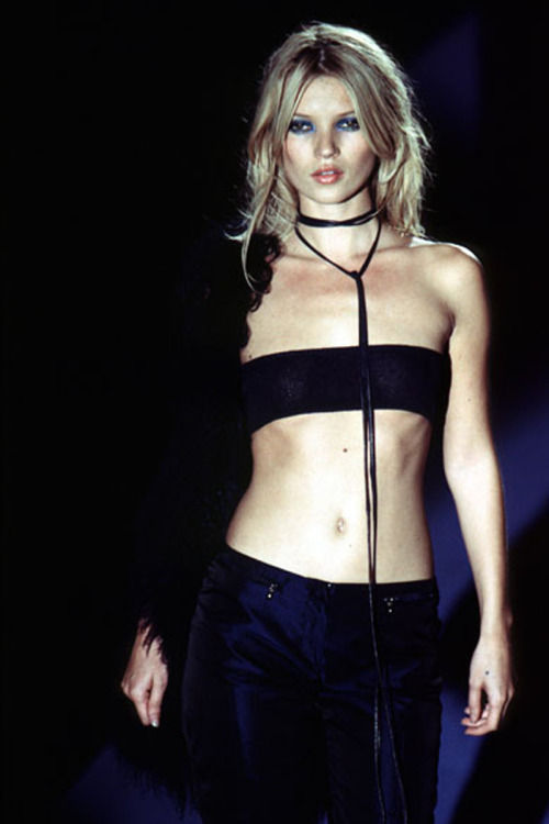 90srunway:  Kate Moss, Gucci by Tom Ford S/S 1996