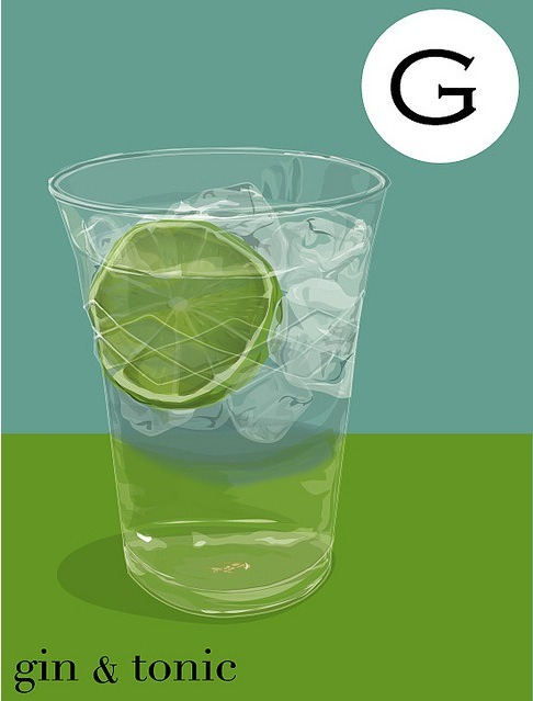 G is for Gin and Tonic (and Gracie)