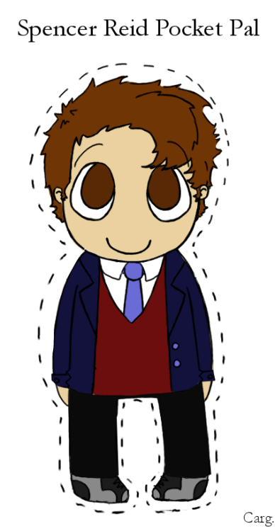 A Spencer Reid Pocket Pal. So you don't have to worry about losing the clothes!
