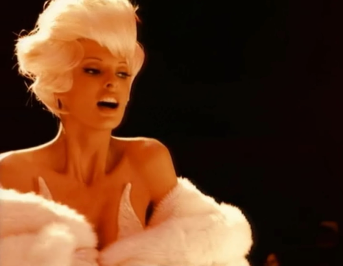 "robertoramone:  LINDA EVANGELISTA IN GEORGE MICHAEL ""TOO FUNKY"" MUSIC VIDEO 1992."