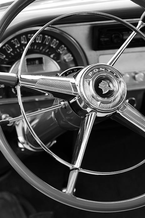 dicksavage:  1953 Pontiac Steering Wheel