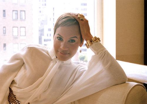 The super stylish Erica Reid for T-Magazine.  Photo:T-Magazine