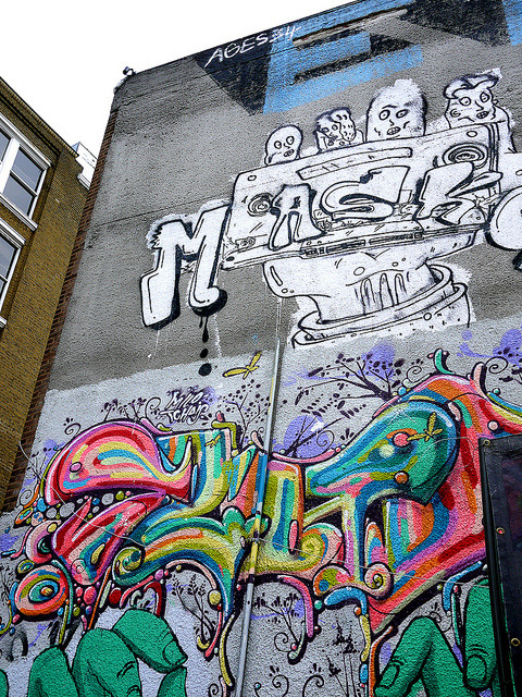 untitled on Flickr. Street Art at Red Market, Shoreditch