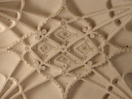 Ceiling molding in the Granada Cathedral.