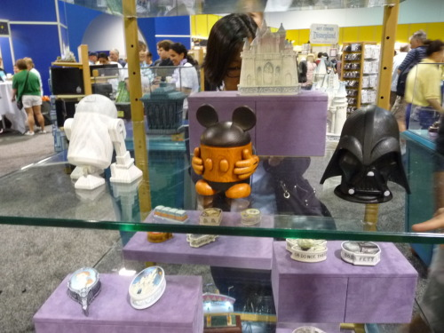 Some cool Star Wars collectibles on display at Disney's D23 Expo.