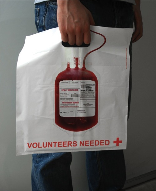 szymon:  Red Cross promo bag by Lem, Shanghai, China