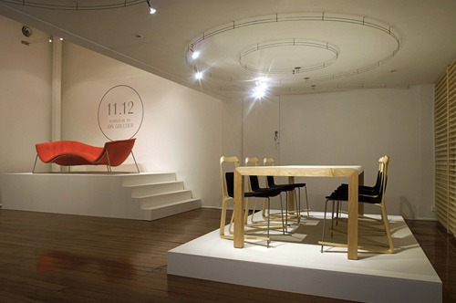 We have recently completed work for '11.12 New Furniture by Jon Goulder' exhibition.We wanted to post this great interview of Jon on the Design Files. Big thanks to Lucy for the great article and the mention.