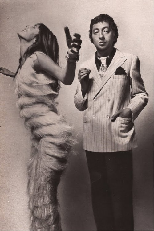 Couple of the Year, 1970 Jane Birkin and Serge Gainsbourg by Guy Bourdin
