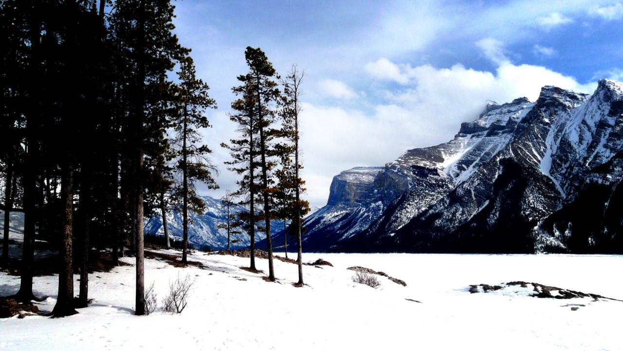 - Lake Minnewanka, March 2011 -