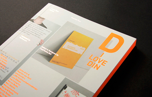 Our Big Room identity has been published in I Love Type Series (vol.4): I Love DIN