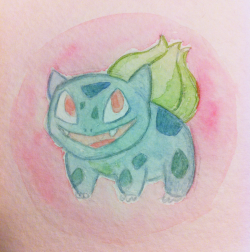 Bulbasaur watercolour