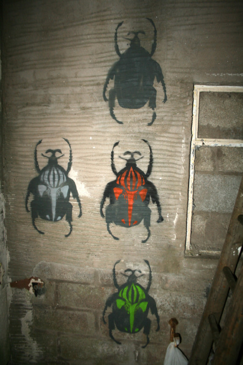 These are pretty awesome. I would like to a bunch of different beetles in a bunch of different colors.