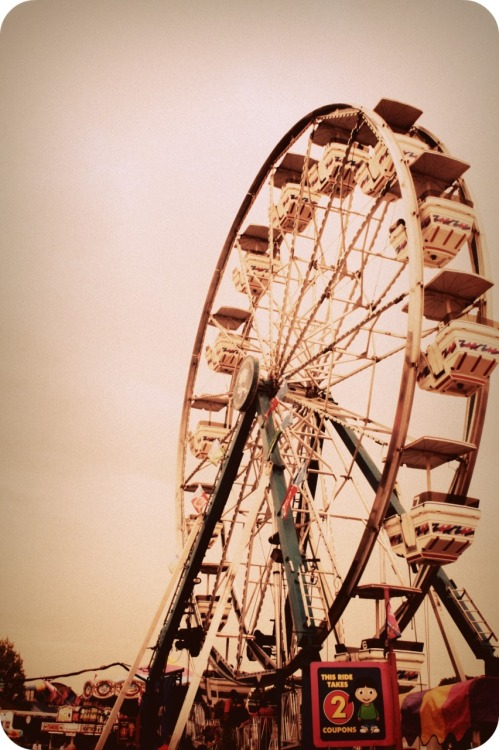 againstallflags:  Ferris Wheel - Kentucky State Fair - Louisville, KY