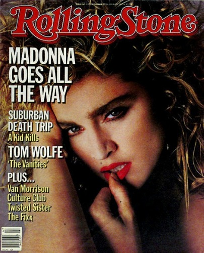 michellerakos:  Celebrating Madonna: The Queen of Pop's 50 Most Iconic Moments: Madonna's First Rolling Stone Cover 1984 (via  | Rolling Stone Music | Photos)