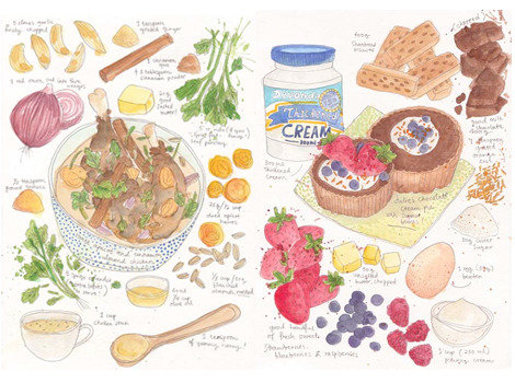 Cook Book Drawings