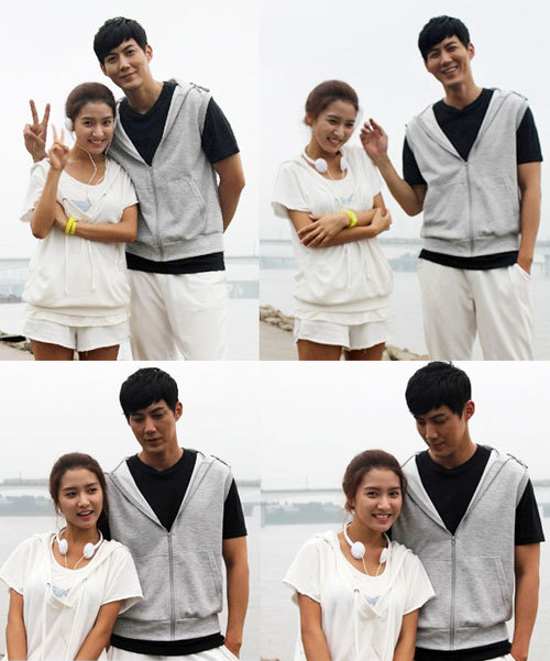 himealeenkawaii:    Kim So Eun and Ryu Jin to overcome 17 year age difference for MBC's 'A Thousand Kisses'  Kim So Eun, who is much loved for her bright and refreshing image, is returning to the drama scene forMBC's 'A Thousand Kisses'. The beautiful actress took a year off since her last drama stint in 'A Good Day For the Wind To Blow'. In her new drama, the young actress plays the role of Woo Joo Mi, a bright and energetic girl who lives happily even with the misfortune of having grown up without a mother. She is set to have a romantic relationship with a rich but sensitive guy named Jang Woo Jin, played by actor Ryu Jin. At a filming session for 'A Thousand Kisses' on August 14th, the actress filmed her first scene in which she collided with Ryu Jin while jogging and listening to music at the same time. With this event, Kim So Eun falls in love with Ryu Jin at first sight and begins to work her way to his closed heart. Kim So Eun and Ryu Jin actually have a 17 year age difference but the two were able to overcome it at the shooting with their professionalism. The acting couple were very comfortable and even joked around with each other. 'A Thousand Kisses' is about people who have experienced failures in life but overcome it and become successful. It is scheduled to air its first episode on August 20th. Source: OSEN via Nate