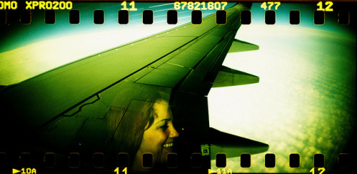 Nicole Is Winging It by Lomo-Cam on Flickr.