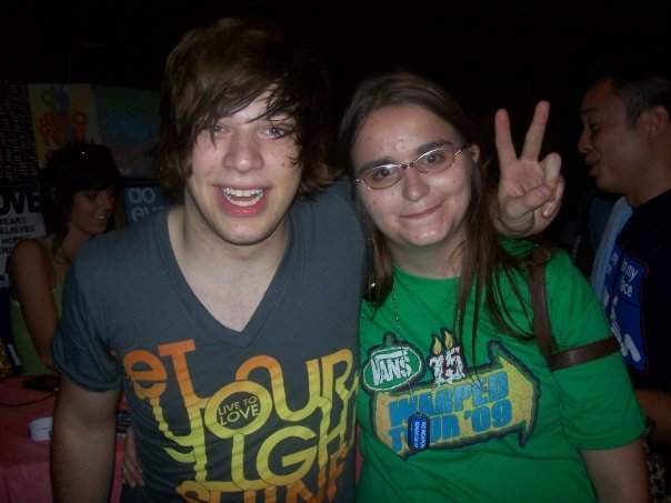 donttrusttina:  Me with Stephen Jerzak from 2009