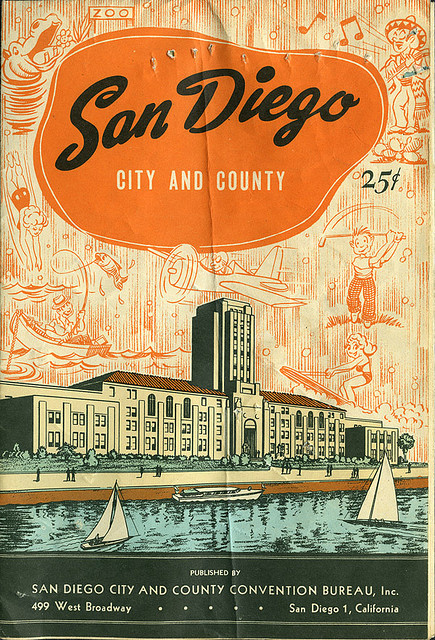 vallerianna:  ephemera - San Diego map - front by Jassy-50 on Flickr.
