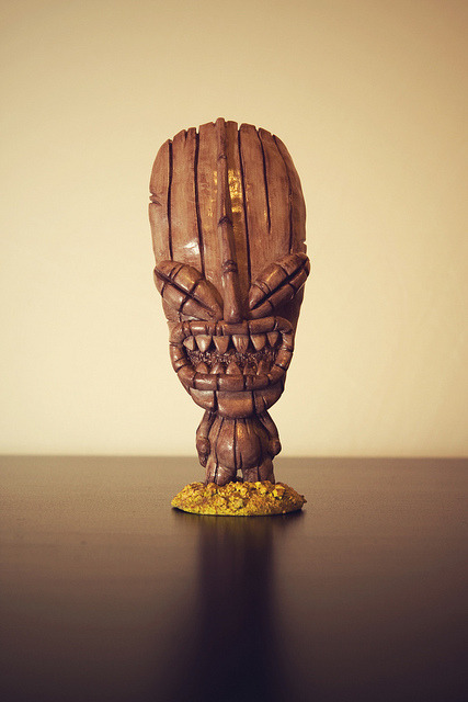 Cheeky Tiki on Flickr.Taken so pictures of this years sculpts - Here's Cheeky Tiki finished.