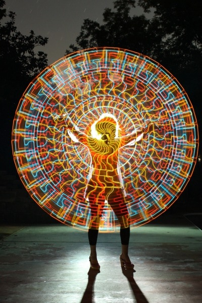 Collective Consciousness | Light Painting Patterns by Wes Whaley