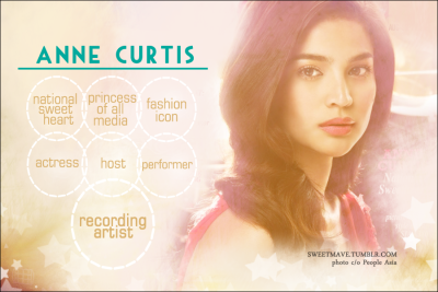 sweetmave:  @annecurtissmith fANNEart feat. her many titles.. w/ RECORDING ARTIST included :D